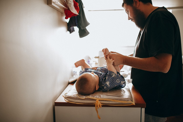 Baby Cries When Changing Diaper. how to handle it